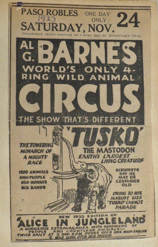 United Monster Shows! Circus Scrapbook Sells Bros +1872 - 5