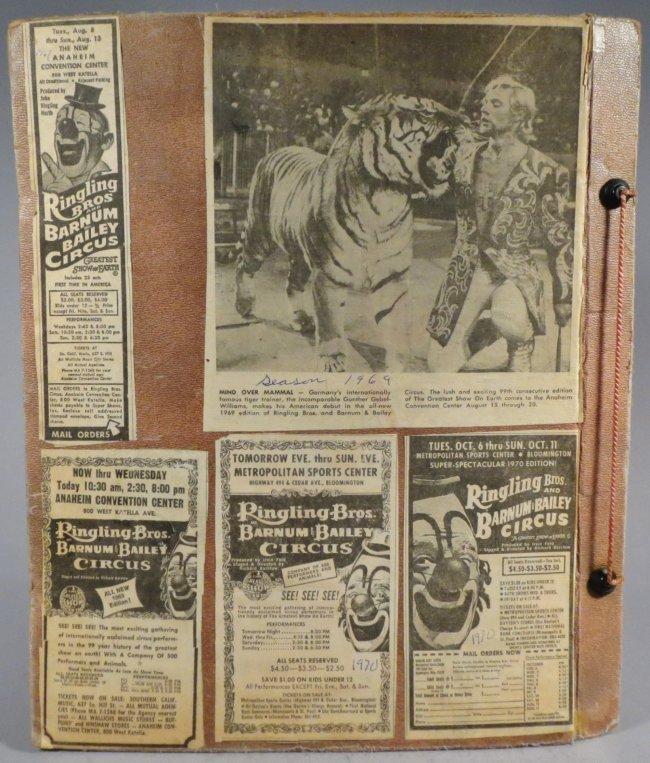 25 Famous Clowns! Circus Scrapbook, Gollmar Bros + 1894 - 2