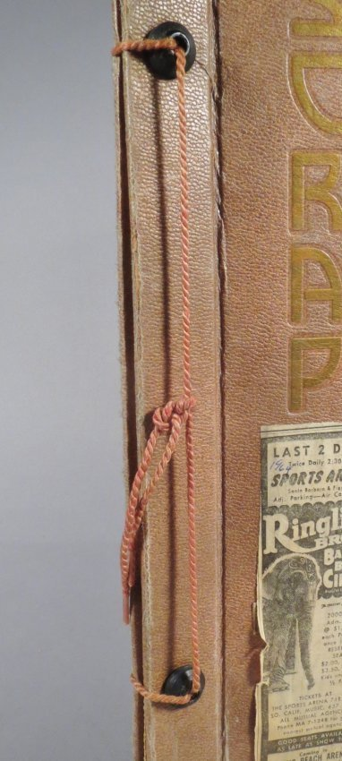 Dip of Death! Circus Scrapbook, Christy Bros + 1889 + - 10