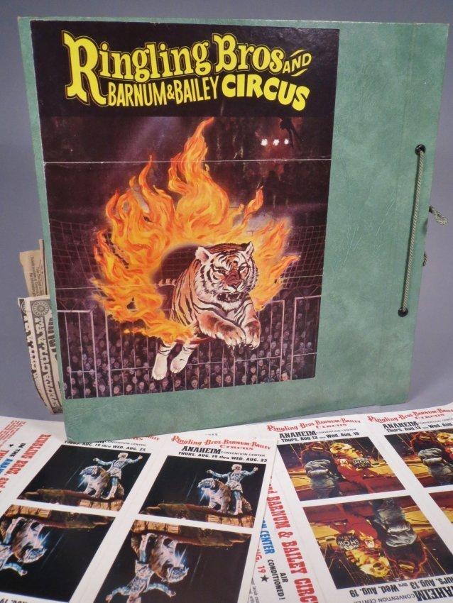 Vintage Circus Scrapbooks 1960s-70s - 10