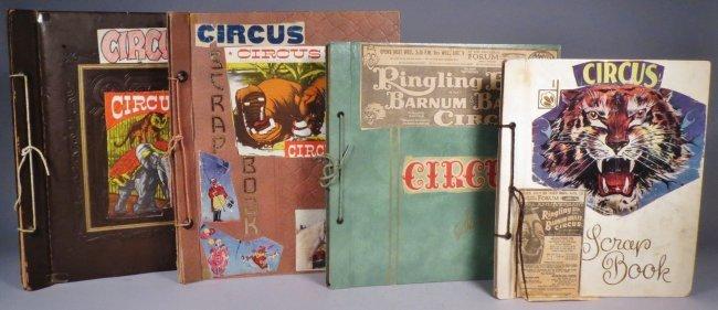 Vintage Circus Scrapbooks 1960s-70s