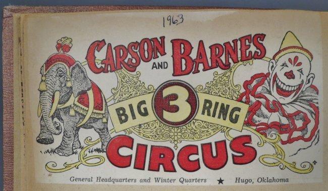 Vintage Circus Scrapbooks 1960s-70s - 2