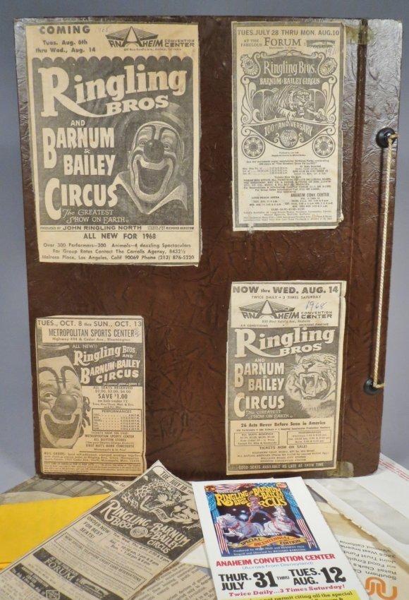 Vintage Circus Scrapbooks 1960s-70s - 3