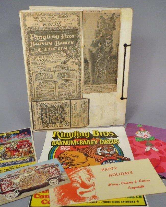 Vintage Circus Scrapbooks 1960s-70s - 4