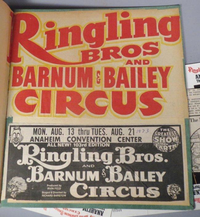 Vintage Circus Scrapbooks 1960s-70s - 5