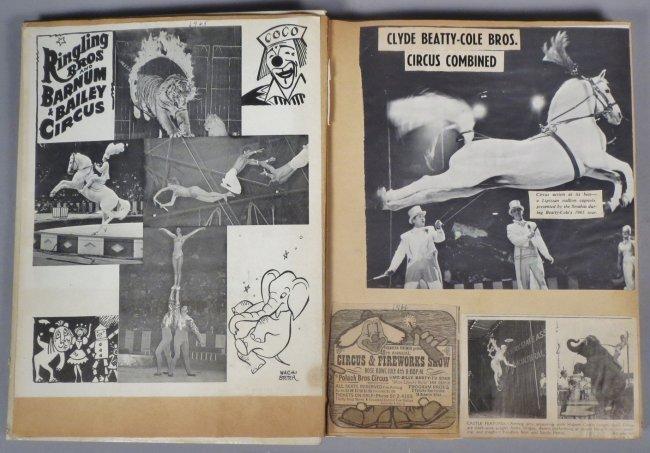 Vintage Circus Scrapbooks 1960s-70s - 6