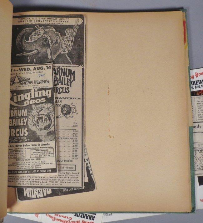 Vintage Circus Scrapbooks 1960s-70s - 8