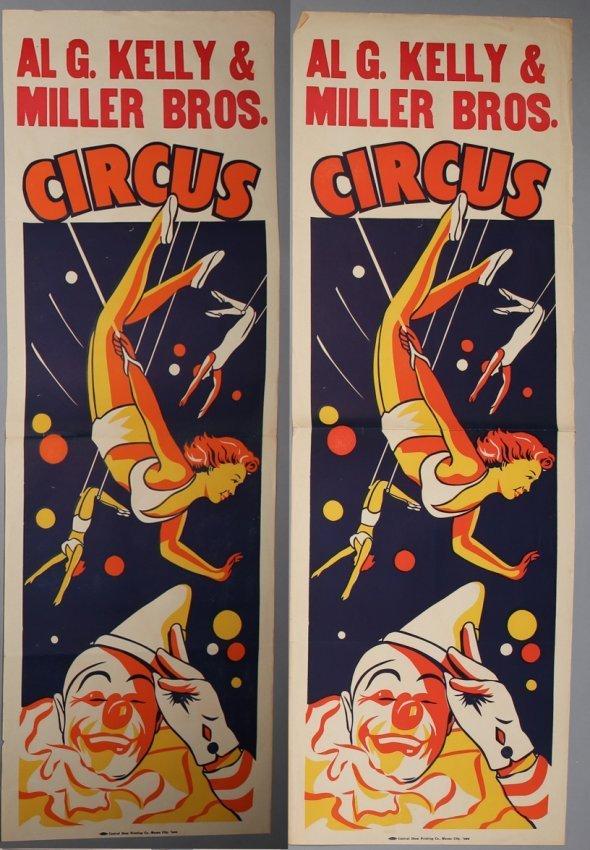 Al G. Kelly Circus Posters