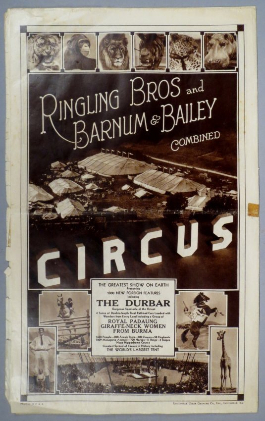 1933 Ringling Bros Barnum Bailey Circus Courier - 2
