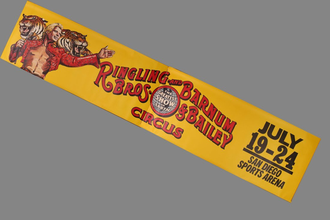 3 LARGE Ringling Brothers & Barnum & Bailey Circus SD