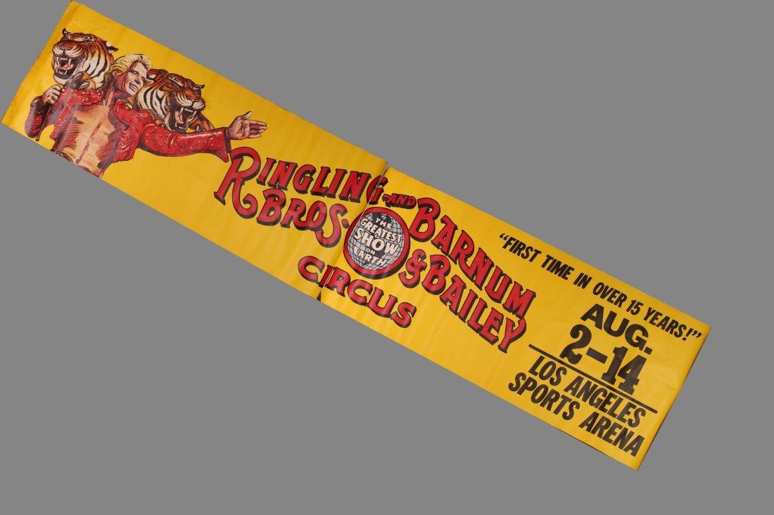 LARGE Ringling Brothers & Barnum & Bailey Circus LA