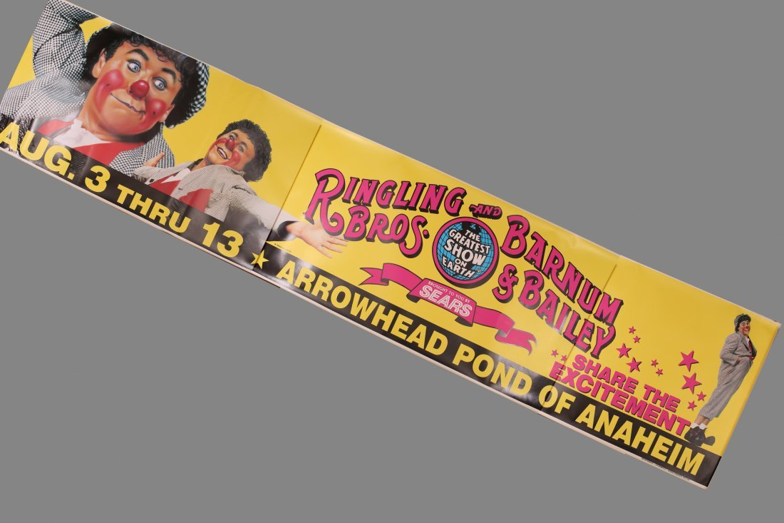 Vinyl Ringling Brothers & Barnum & Bailey Circus ANA +