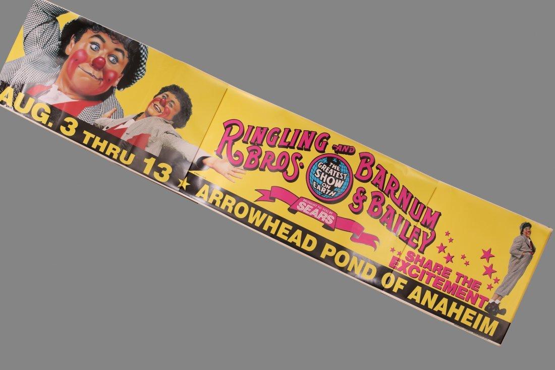 Vinyl Ringling Brothers & Barnum & Bailey Circus ANA +
