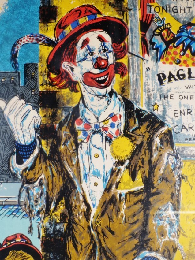 George Crionas Serigraph Off to the Opera - 2