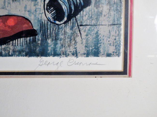 George Crionas Serigraph Off to the Opera - 3