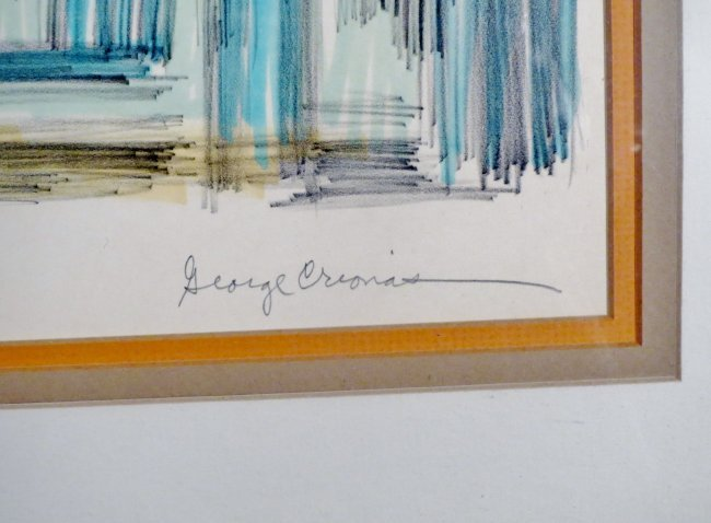 George Crionas Lithograph Reflections - 3