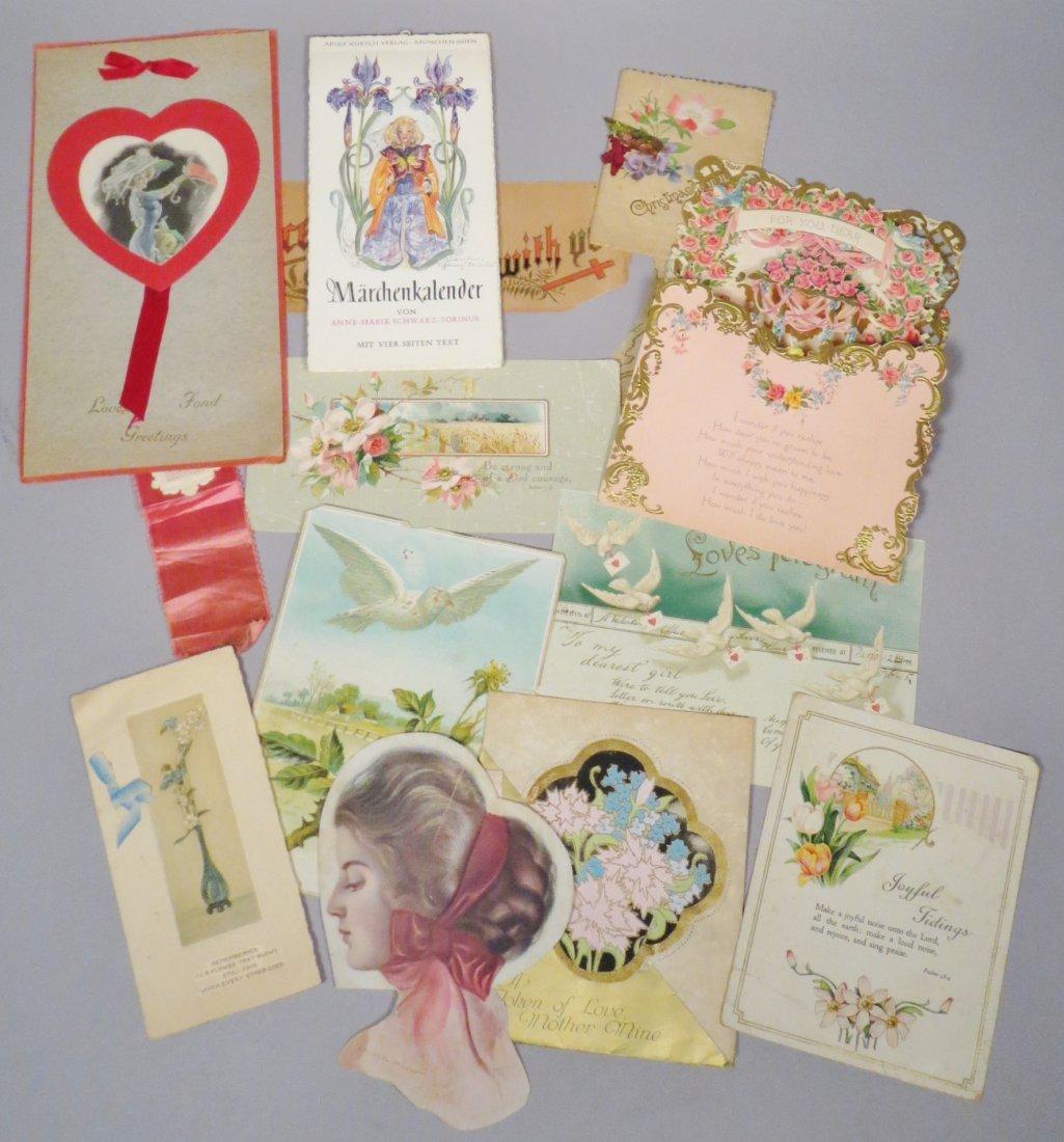14 Piece Vintage/Antique card lot