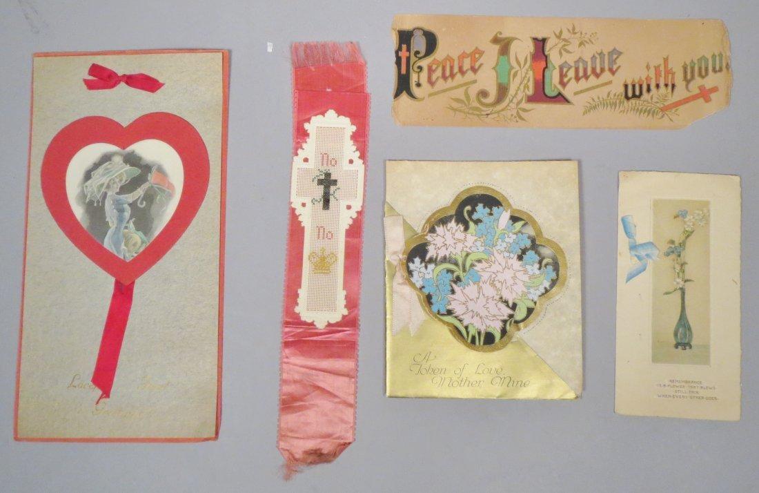 14 Piece Vintage/Antique card lot - 4