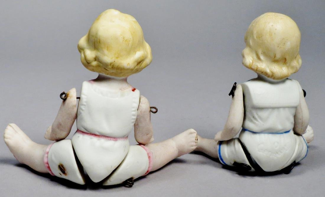c1890 German Bisque Hertwig Dolls - 2
