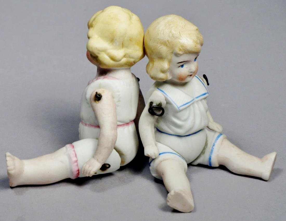 c1890 German Bisque Hertwig Dolls - 3