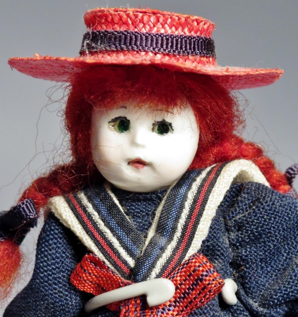 Vintage Pair Les Petite Amis, Dollhouse Dolls - 3