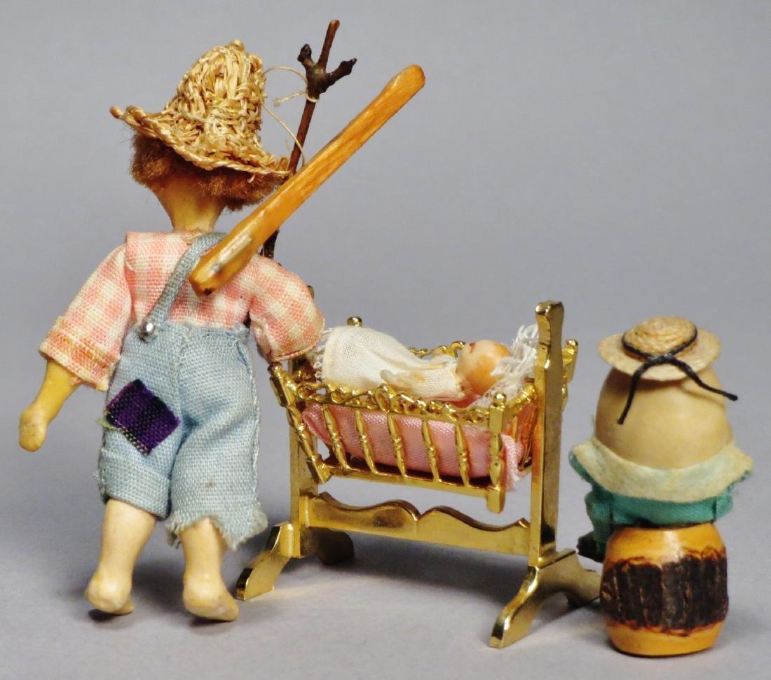 Lot of 3, N.I.A.D.A. Artist Irma Park Miniature Dolls - 2