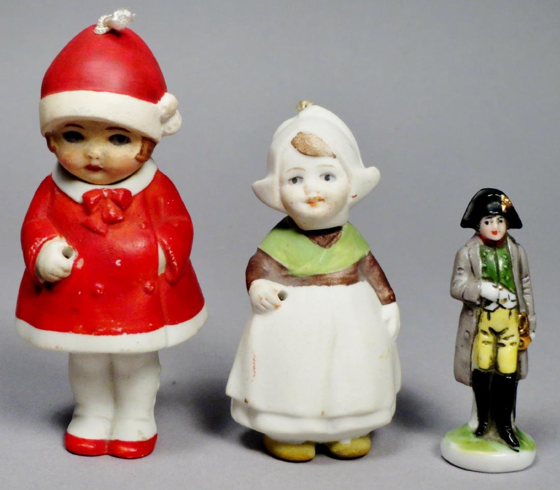 Antique Bisque Doll Lot, Nodders and More - 2