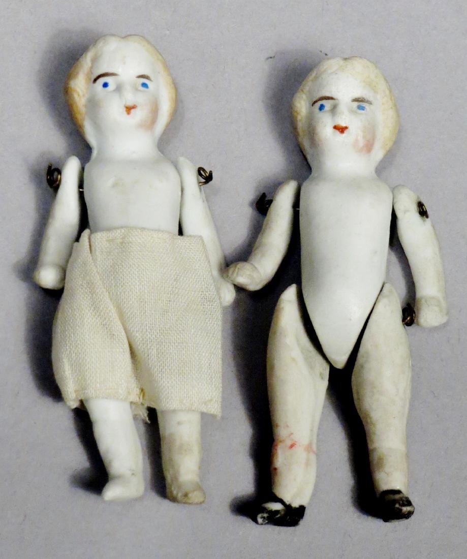 Antique Bisque Doll Lot, Nodders and More - 6