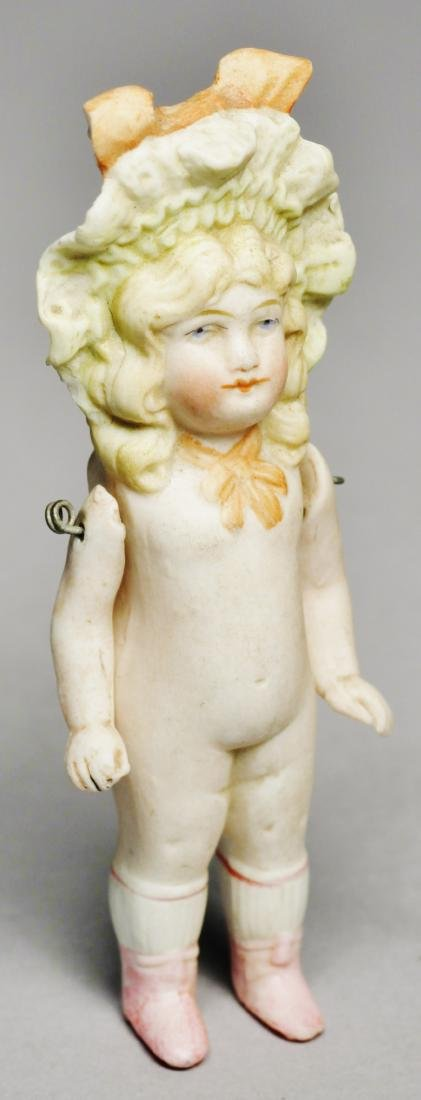 c1890 Small German Bisque Doll, Hertwig