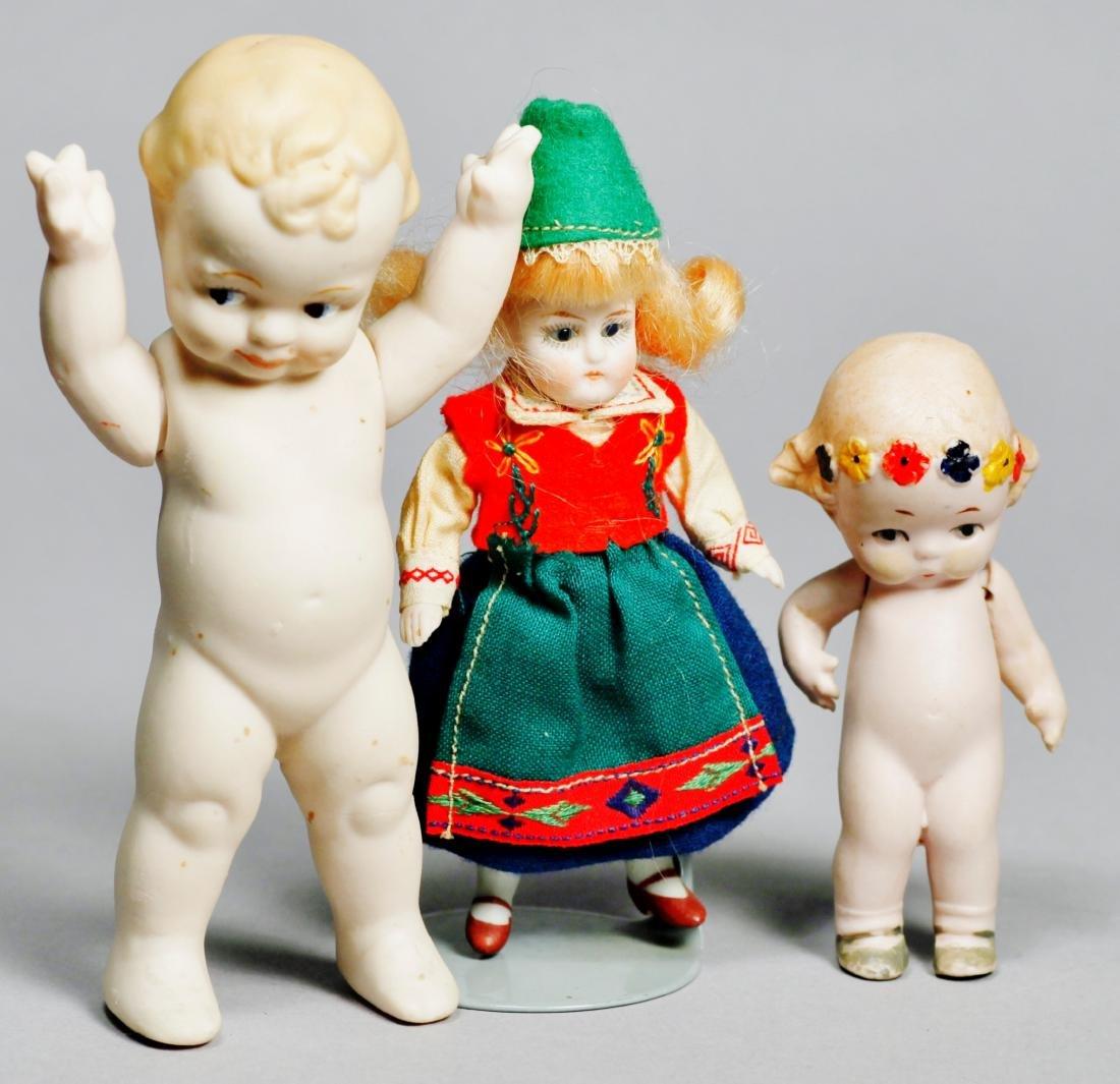 Antique Hertwig Bisque Doll, Plus