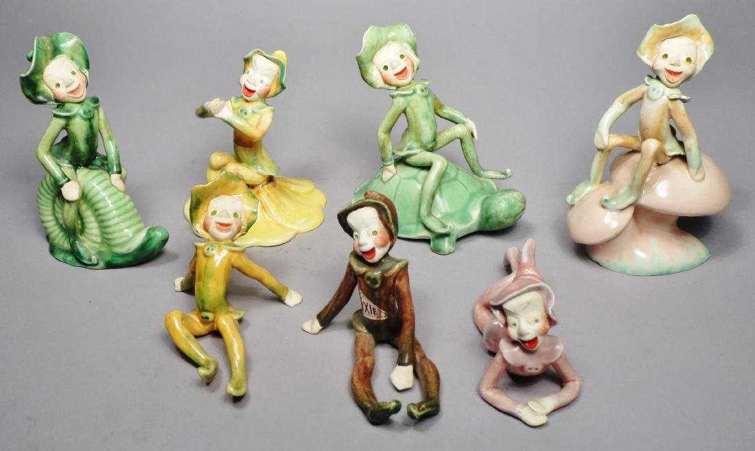 Vintage Lot, Drews Pixie Figurines