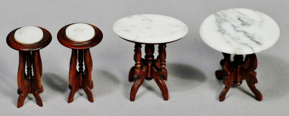 Artist signed dollhouse furniture lot - 4
