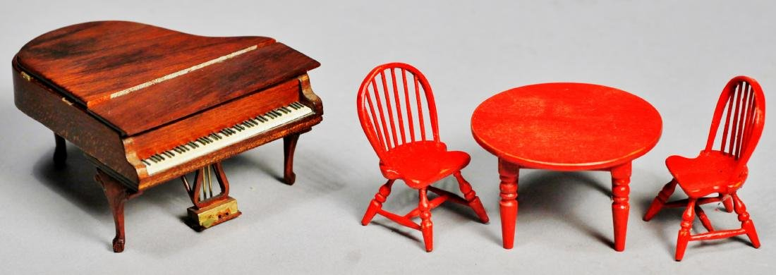 Ralph Partelow & Oldham Studio Dollhouse Furniture