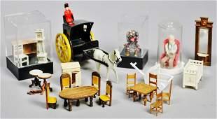 Miniature Furniture lot