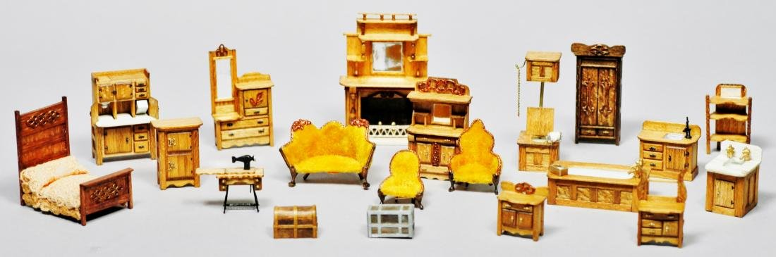 Parker House Miniatures Furniture Lot