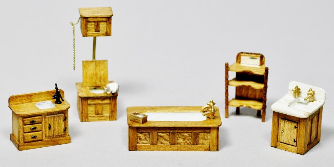 Parker House Miniatures Furniture Lot - 2