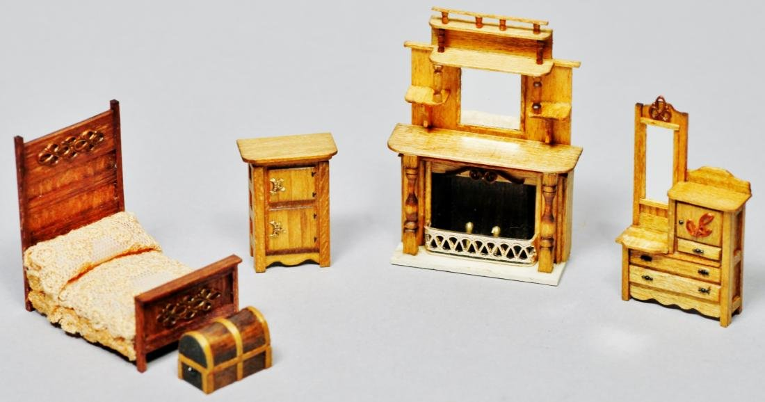Parker House Miniatures Furniture Lot - 3