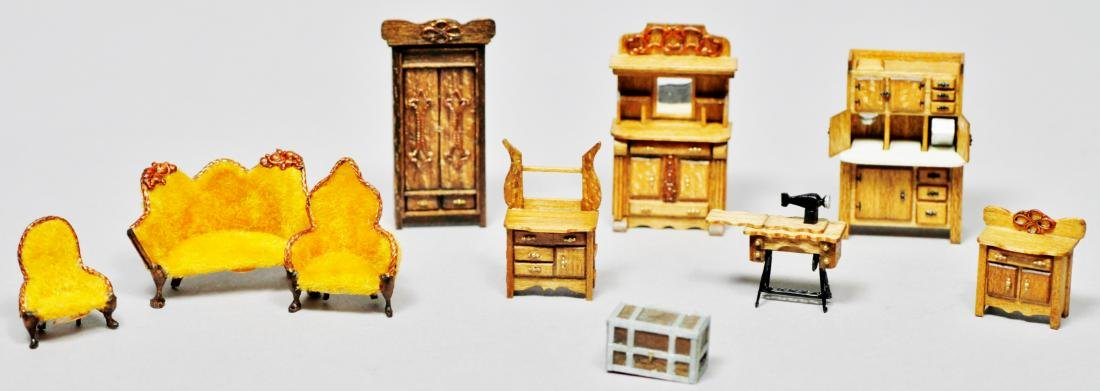 Parker House Miniatures Furniture Lot - 5