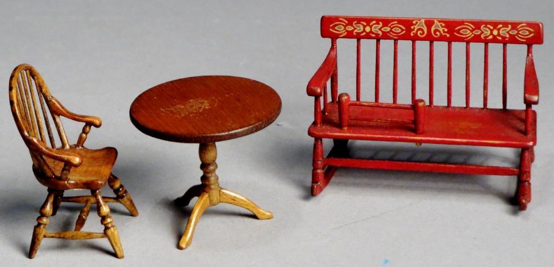 Vintage Oldham Dollhouse Furniture