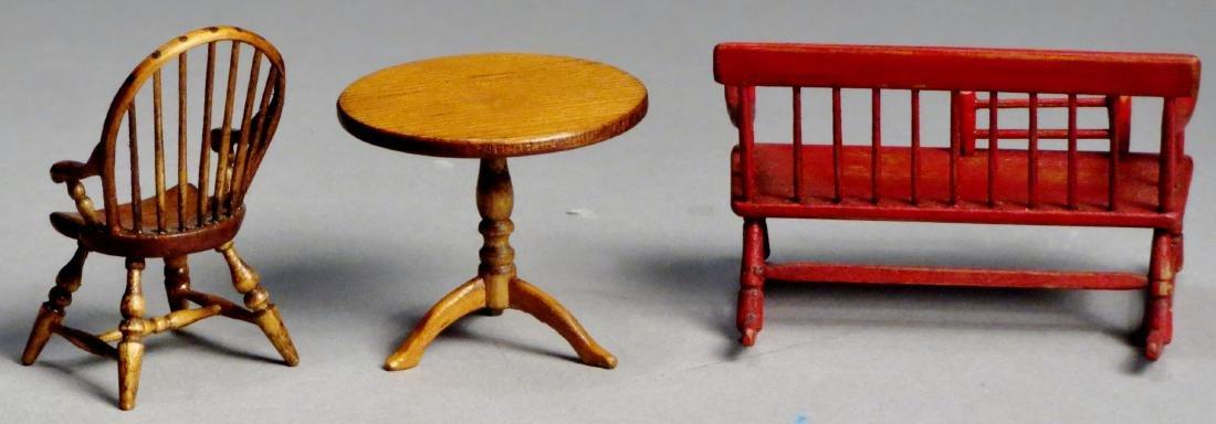 Vintage Oldham Dollhouse Furniture - 2