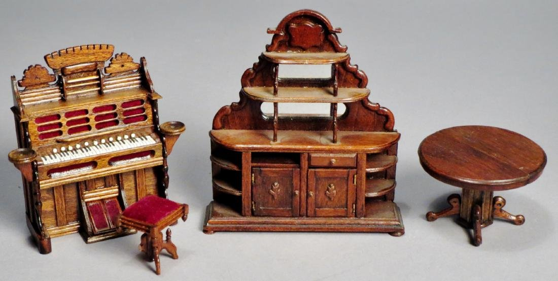 Vintage Victorian Style Dollhouse Furniture