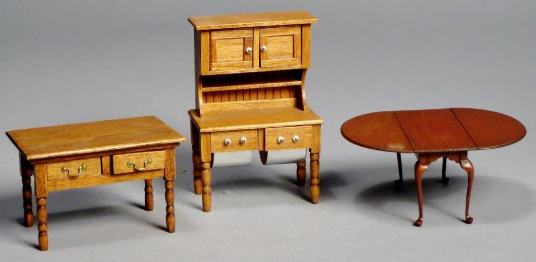 Dollhouse Miniature Designer Furniture Artist Signed
