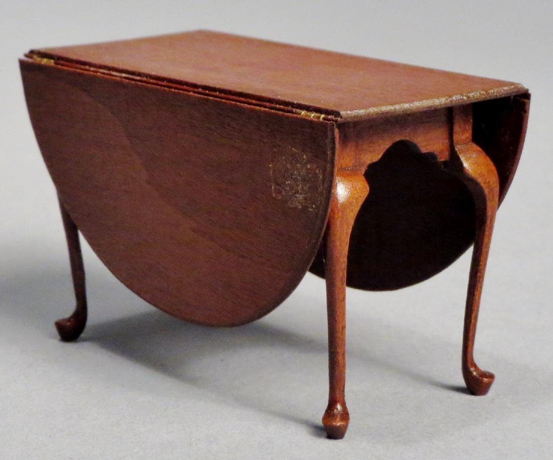 Dollhouse Miniature Designer Furniture Artist Signed - 2