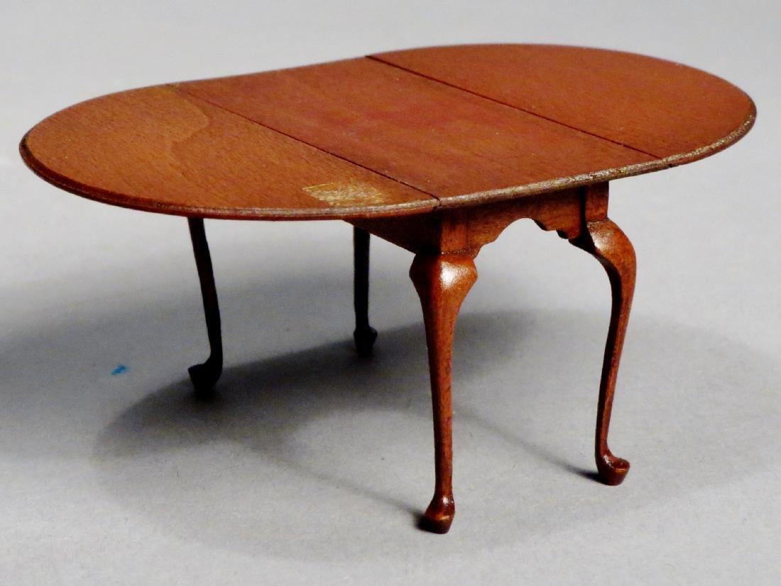 Dollhouse Miniature Designer Furniture Artist Signed - 3