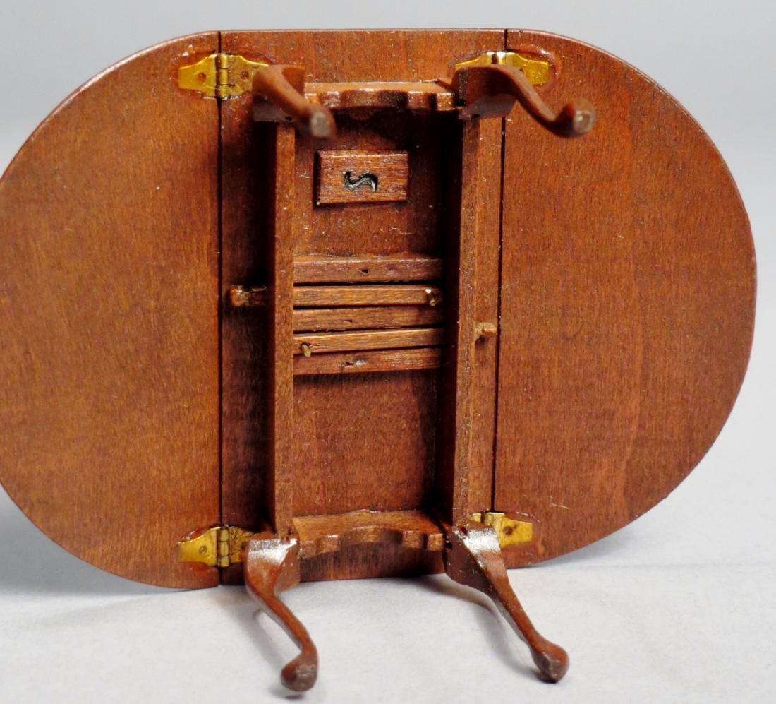 Dollhouse Miniature Designer Furniture Artist Signed - 4