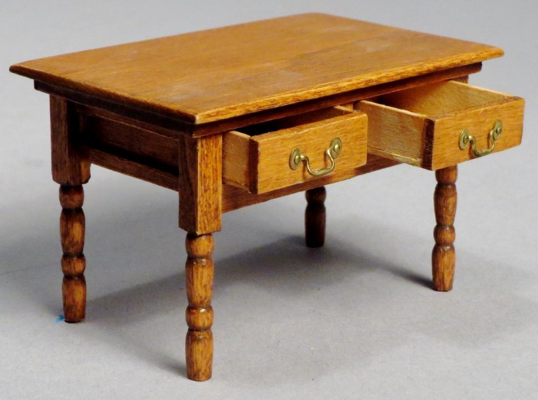 Dollhouse Miniature Designer Furniture Artist Signed - 5