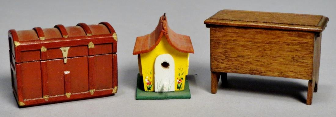 Dollhouse Miniature Furniture by Taylor Signed