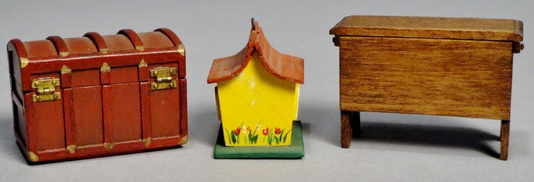 Dollhouse Miniature Furniture by Taylor Signed - 2