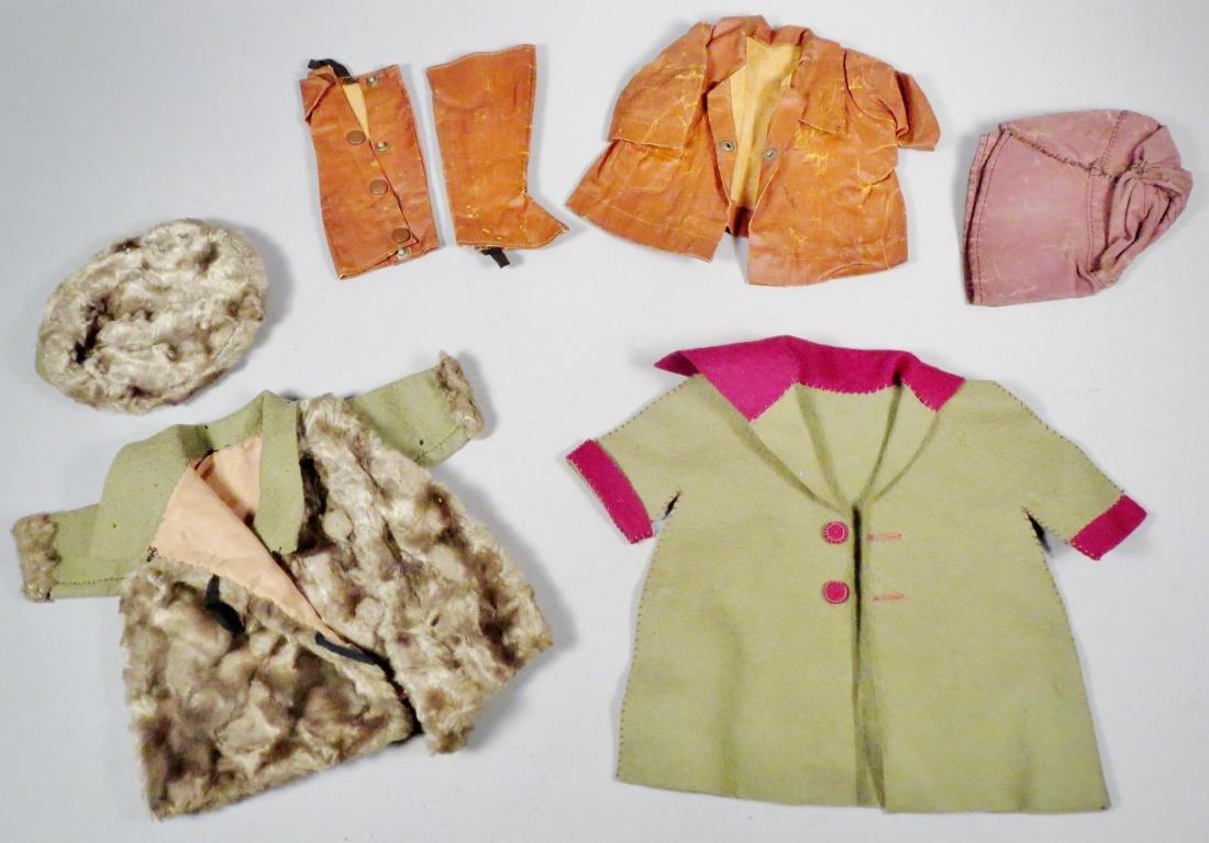 c1930 Doll Clothes Lot, Coats