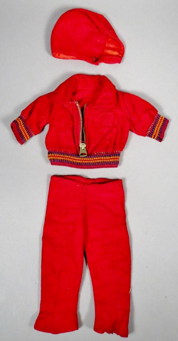 c1930 Doll Clothes, Winter Outfit